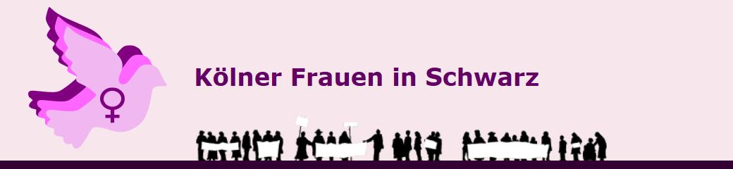 Kölner Frauen in Schwarz - Eintreten für den Frieden